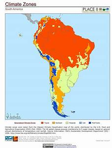 South America  Climate Zones