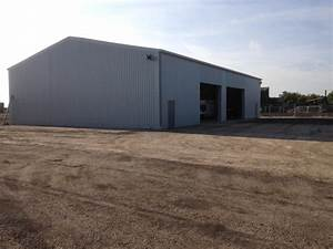 80 ft x 60 ft x 17 ft 244m x 183m x 53m used With 18 ft metal roofing