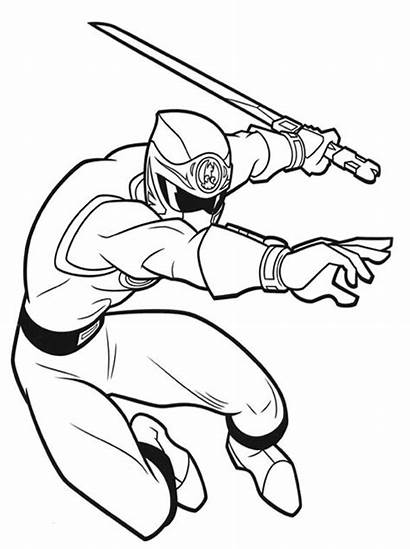 Rangers Coloring Power Pages Ranger Sheets Boys