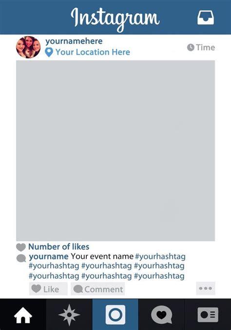 instagram frame prop template best 20 instagram frame ideas on instagram photo booth instagram and