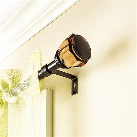 better homes and gardens curtain rods better homes and gardens oglesby curtain rod 5 8 quot rod diameter walmart com