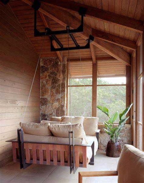 Indoor Swing Sofa by 25 Exles Of Indoor Swings Turn Your Home Into A