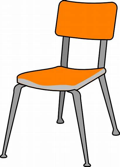 Chair Student Clip Clipart Cliparts Clker Vector