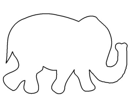 Elephant Template Free Elephant Templates When I Started Looking Up