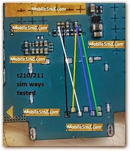Samsung Tab 3 T211 Sim Card Track Problem Jumper Ways Solution Here