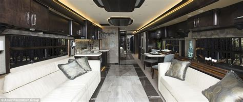 Inside the $700k luxury American Eagle RV that's as big as