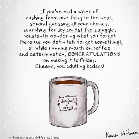 """If it's anything like a cup of joe then i'll have to pour it. Sweatpants & Coffee on Instagram: """"Anyone else? Or just me? @naneahoffman. * * * * * #coffee # ..."""