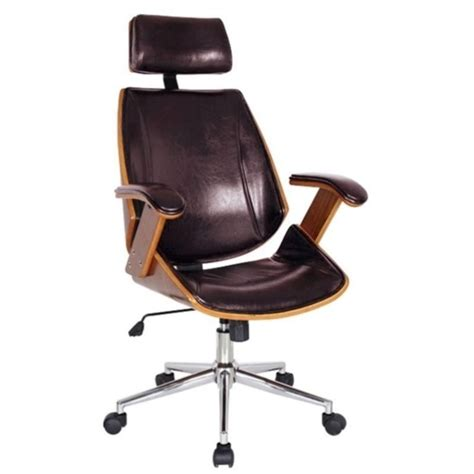 office chair in brown 97916