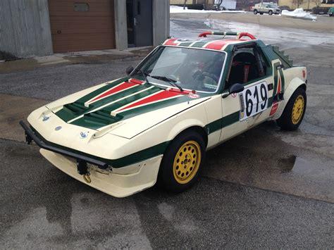 vintage alfa romeo race cars 1986 fiat bertone x 1 9 alfa romeo motor race car for