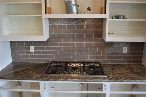 Granite Backsplash by Tiling A Granite Backsplash Stoddard Tile Work Diary