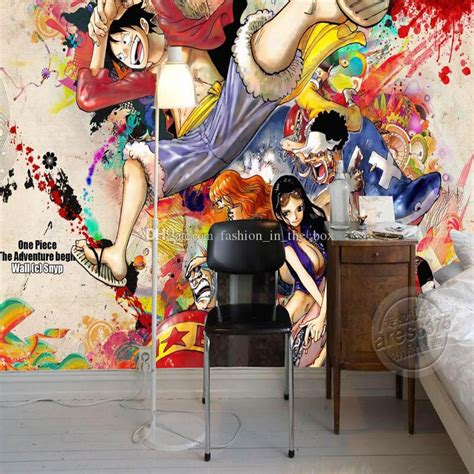 Anime Mural Wallpaper - one luffy photo wallpaper custom 3d wall murals
