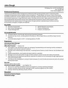 Resume headline for sales