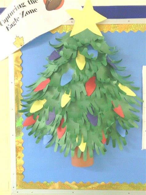 paper christmas tree bulletin board 1000 ideas about tree bulletin boards on bulletin boards butterfly bulletin