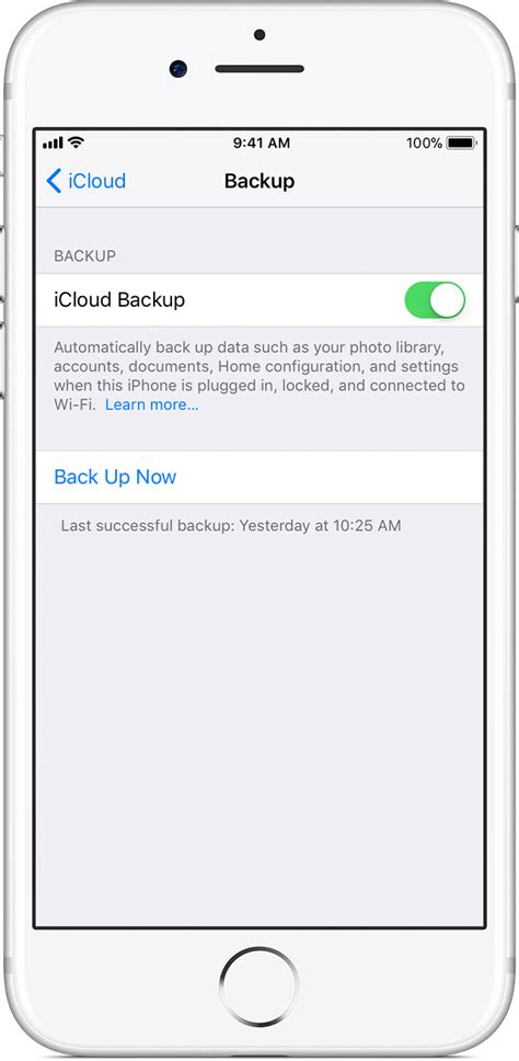backup photos from iphone how to back up your iphone and ipod touch apple