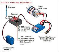 Nitro Servo Wiring by Converting Traxxas Ruster Electric To Flysky Gt3c Remote