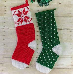 Fair Isle Snowflake Christmas Crochet Pattern