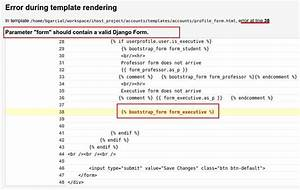 django template if - passing multiples django forms in context to templates