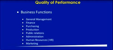 grade  business studies business operations quality