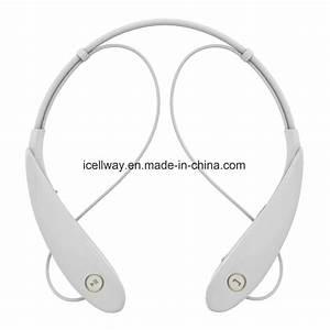 China Factory Price Neckband Stereo Bluetooth Headset Hv