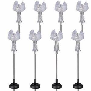 8 Pack Westinghouse Guardian Angel Solar Garden Color