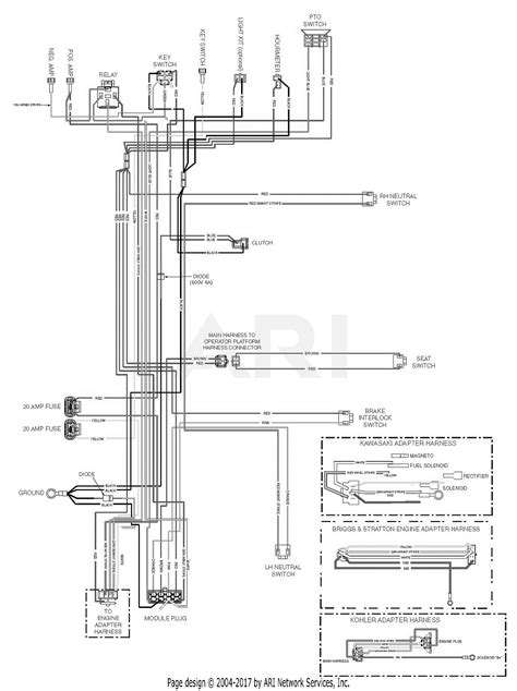 scag scz61v 27fx cheetah s n k0300001 k0399999 parts diagram for scz electrical schematic