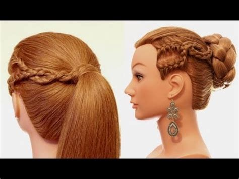 easy hairstyle   day hairstyles  long hair