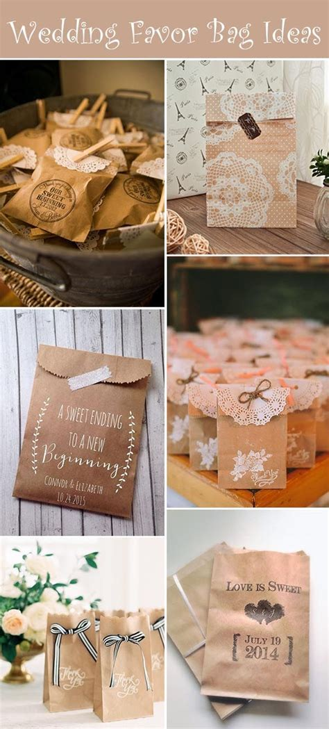 37 budget friendly wedding bag favors for your big day
