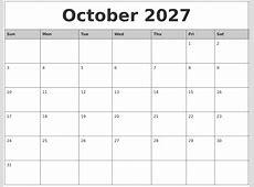 June 2027 Printable Calender