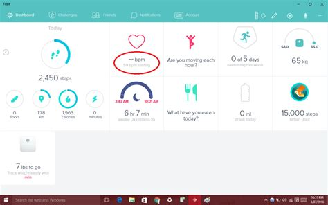 fitbit phone number fitbit charge hr not showing current rate in