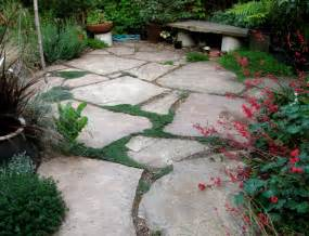 patio flagstone ideas drystonegarden 187 arizona flagstone