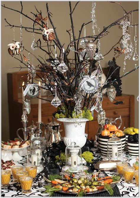 classy  breathtaking halloween decorations