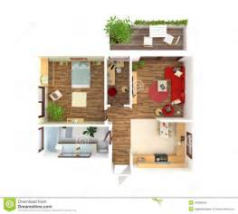 Home Plans With Pictures Of Interior House Plan Top View Interior Design Stock Illustration Image 45308646