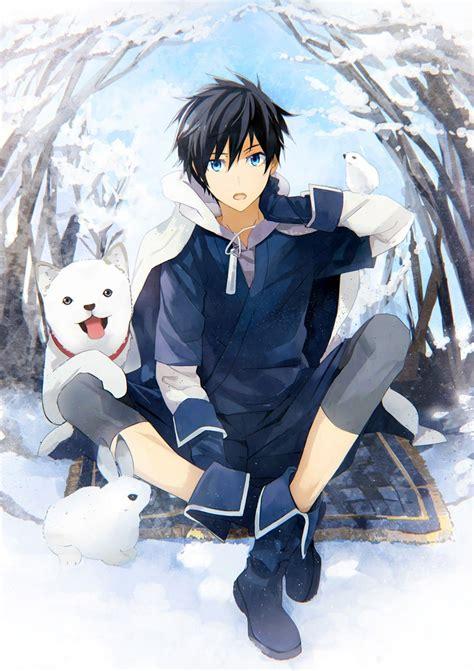 wallpaper gambar anime cowok keren hd