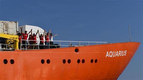 Aquarius Bateau Position by Aquarius Le Navire Se Dirige Vers Malte