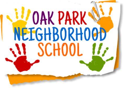 oak park oak park neighborhood school 504 | Oak Park Neighborhood School Logo