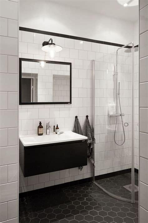 white tile bathroom design ideas 79 gorgeous black and white subway tiles bathroom design