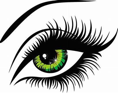 Google Eyes Clipart Lashes Eye Female Za