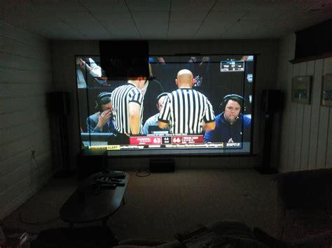 projector  diy xx  screen avs forum home