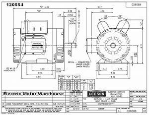 Dayton Electric Motor Parts Diagram