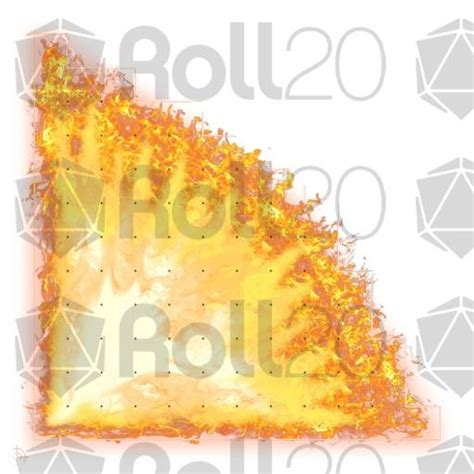 Token Template Roll20 by 60 Cone Of Fire 45 176 Spell Template Roll20 Marketplace