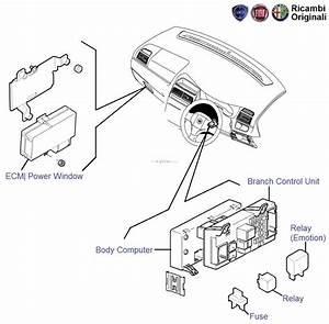 Fiat Grande Punto  P  W Ecu  Relay  Fusebox  Fuses