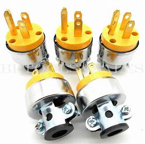 5 Pc Male Extension Cord Electrical Wire Repair