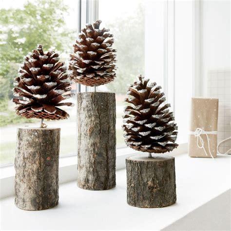 ideas  pinecone decor  pinterest