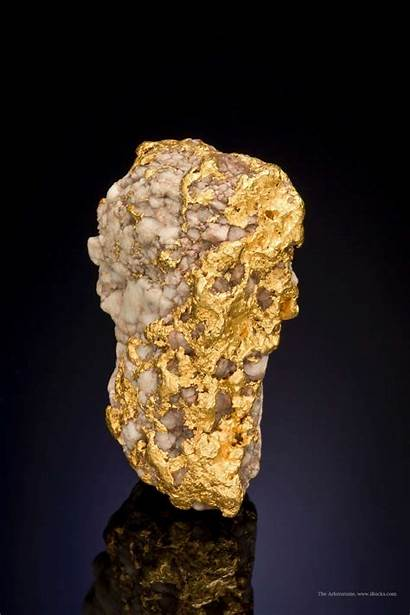 Gold Mineral Quartzsite Quartz Arizona Specimens Specimen