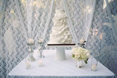 15 stunning cake table ideas the wedding blog