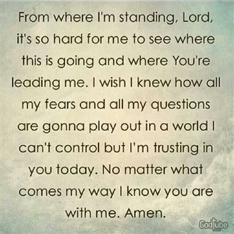 Lord I Need You Now Quotes