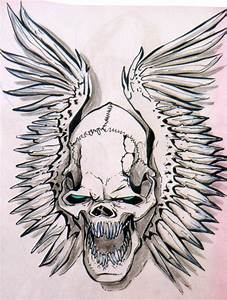 skull wings by heckthor on DeviantArt