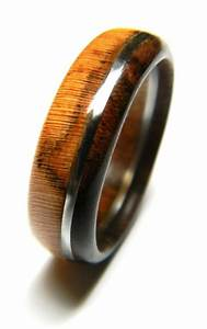 unique walnut and olivewood wood ring jewelry ring wood With alternative mens wedding rings