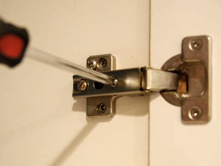 fixing hinges on kitchen cabinets 4 easy cabinet updates hometips 8943
