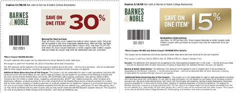 Barnes Ans Noble Coupon by Printable Coupons Barnes And Noble Coupons